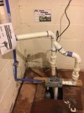 220. Water Powered Backup Sump Pump by Liberty