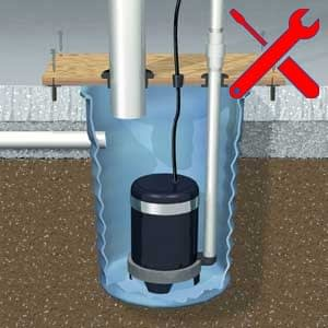 emergency sump pump repairs