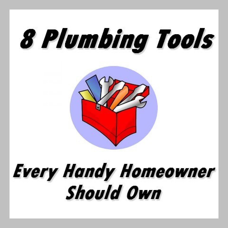 8 plumbing tools