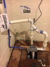 220. Water Powered Backup Sump Pump by Liberty