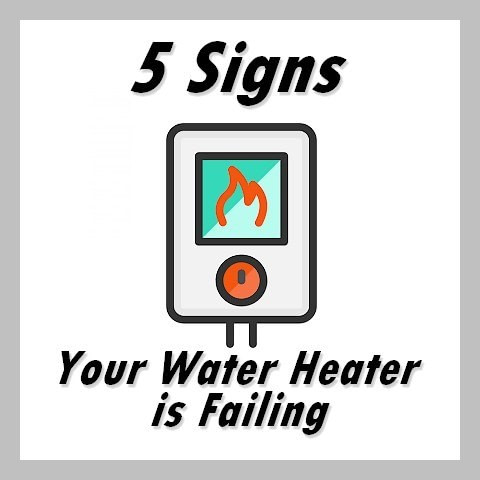 5 signs water heater failure