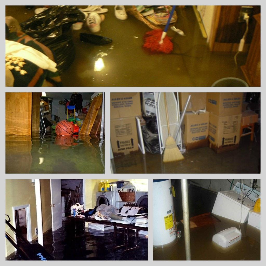 flooded basements