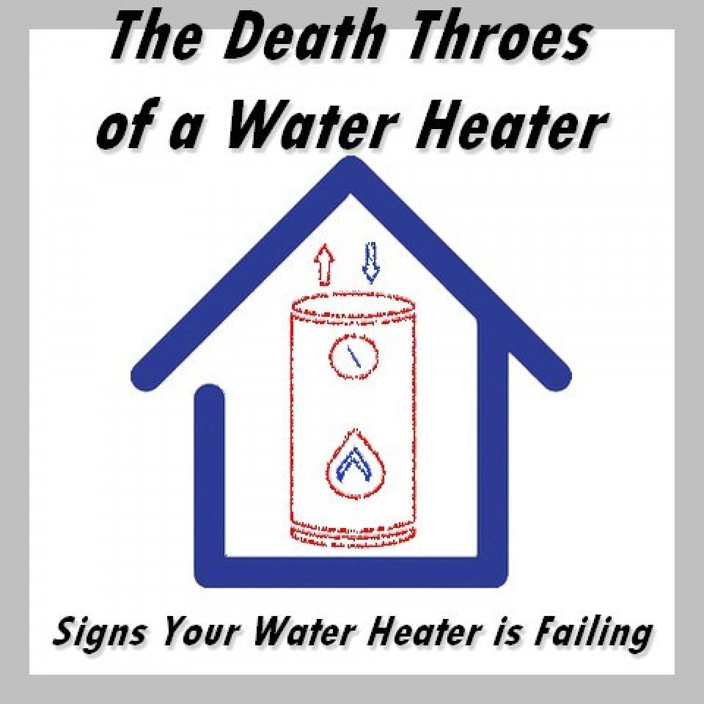 signs water heater is failing