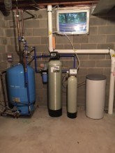 220. Ecowater Whole House Water Treatment System