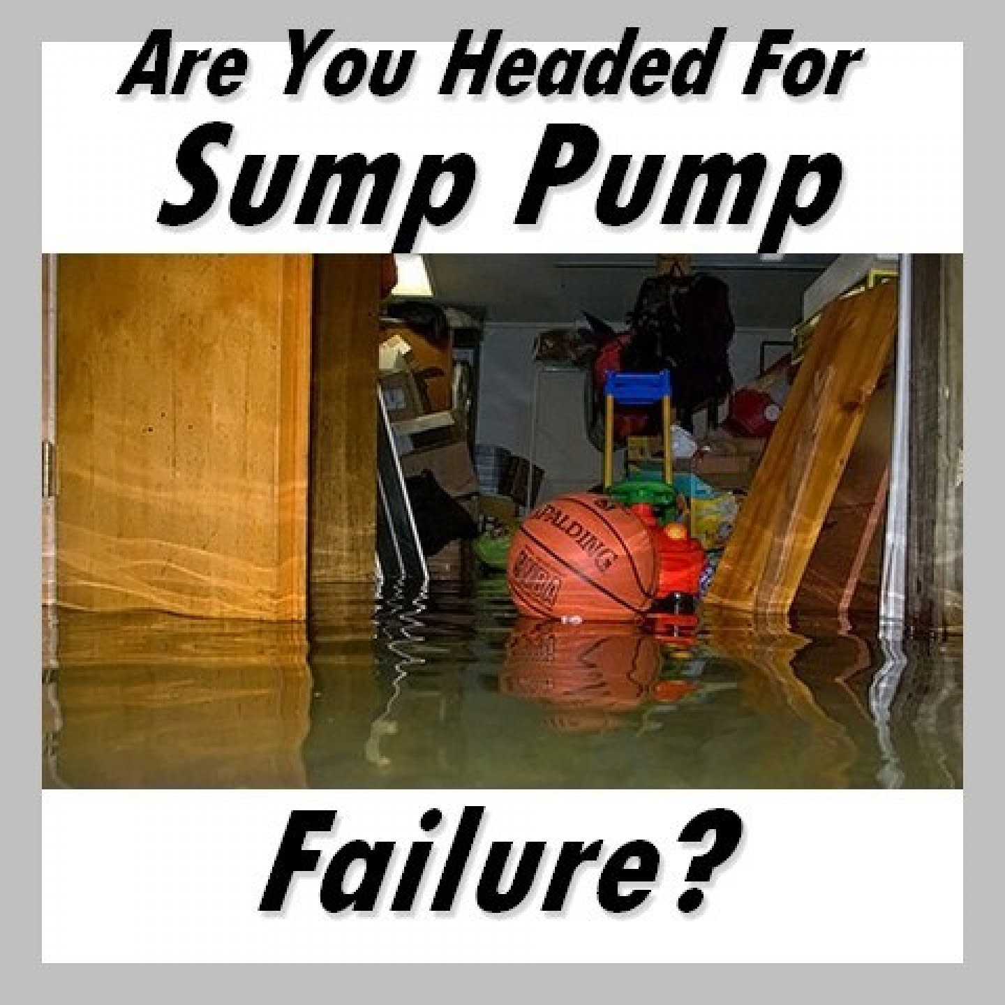 sump pump failure
